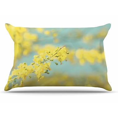 East Urban Home Sylvia Coomes 'Yellow Blooms 2' Pillow Case