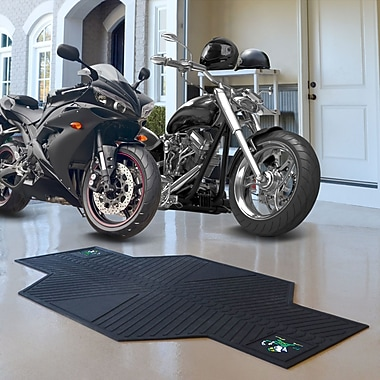 FANMATS NCAA Notre Dame Motorcycle Motorcycle Utility Mat