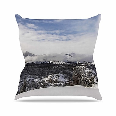 East Urban Home Juan Paolo Top of the Summit Outdoor Throw Pillow; 16'' H x 16'' W x 5'' D