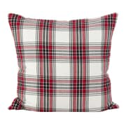 Loon Peak Almeda Tartan Plaid Traditional Cotton Throw Pillow