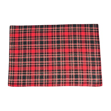 The Holiday Aisle Highland Holiday Plaid Design Placemat (Set of 4)