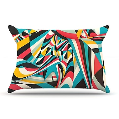 East Urban Home Danny Ivan 'Don'T Come Close' Abstract Pillow Case