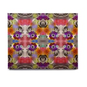 East Urban Home 'Tropical Flowers' Graphic Art Print on Wood