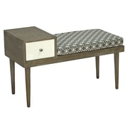George Oliver Boston Upholstered Storage Entryway Bench