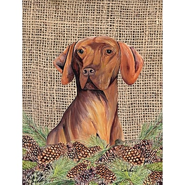 Caroline's Treasures House Vertical Flag; Vizsla