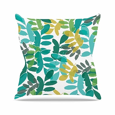 East Urban Home Bridgette Burton Charming Nature Outdoor Throw Pillow; 16'' H x 16'' W x 5'' D