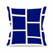 East Urban Home NL designs Square Blocks Pattern Outdoor Throw Pillow; 18'' H x 18'' W x 5'' D