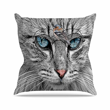East Urban Home Suzanne Carter Birds Eye View Fantasy Digital Outdoor Throw Pillow