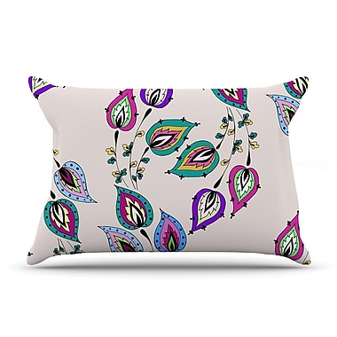 East Urban Home Louise 'Leave' Pillow Case