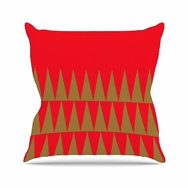 East Urban Home Suzanne Carter Christmas 1 Outdoor Throw Pillow; 18'' H x 18'' W x 5'' D