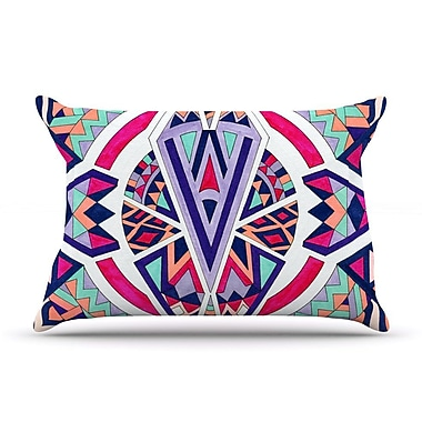 East Urban Home Pom Graphic Design 'Abstract Journey' Circular Tribal Pillow Case