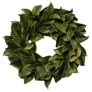 Jane Seymour Botanicals 24'' Magnolia Leaf Wreath; 30''