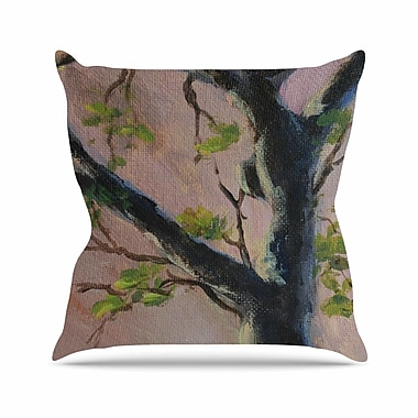 East Urban Home Cyndi Steen Aussie Tree Nature Outdoor Throw Pillow; 18'' H x 18'' W x 5'' D