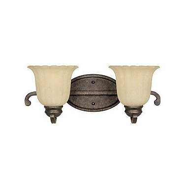 Fleur De Lis Living Evelyn 2-Light Vanity Light
