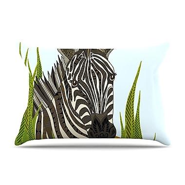 East Urban Home Art Love Passion 'Zebra' Pillow Case