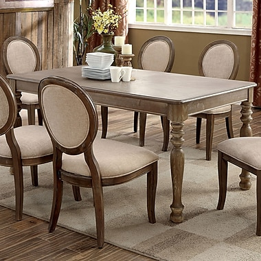 One Allium Way Bloomingdale Transitional Dining Table