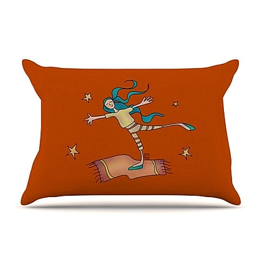 East Urban Home Carina Povarchik 'Being Free' Pillow Case