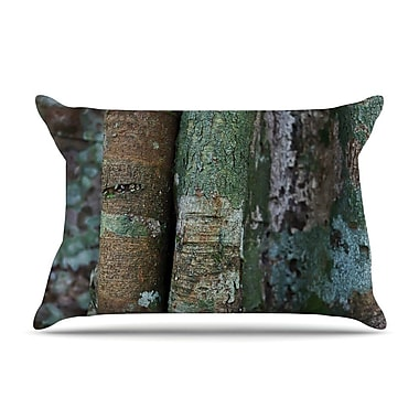 East Urban Home Susan Sanders 'Into The Woods' Rustic Pillow Case