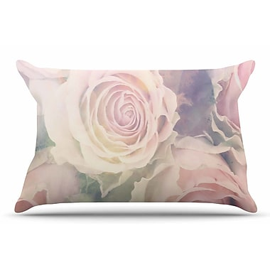 East Urban Home Suzanne Carter 'Faded Beauty' Blush Floral Pillow Case
