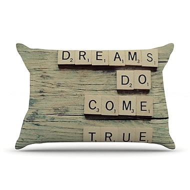 East Urban Home Cristina Mitchell 'Dreams' Wood Pillow Case