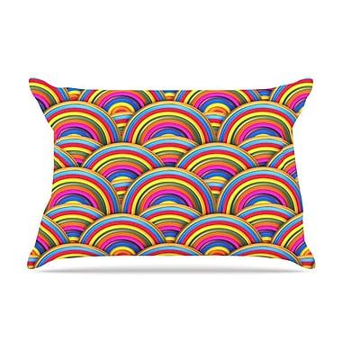 East Urban Home Danny Ivan 'Rainbows' Pillow Case
