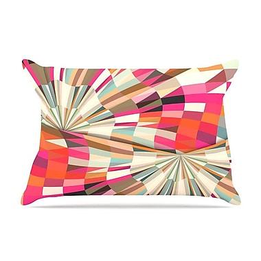 East Urban Home Danny Ivan 'Convoke' Geometric Pillow Case