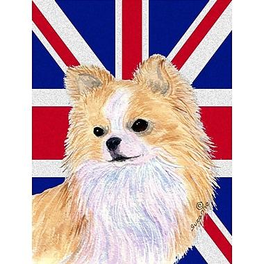 East Urban Home English Union Jack British Flag 2-Sided Garden Flag; Chihuahua 3