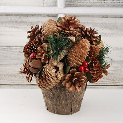 The Holiday Aisle Pinecone and Pine Branch