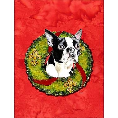 Caroline's Treasures 2-Sided Garden Flag; Boston Terrier 1