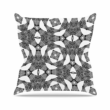 East Urban Home Laura Nicholson Twiggy Boxes Geometric Outdoor Throw Pillow; 16'' H x 16'' W x 5'' D