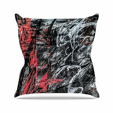 East Urban Home Bruce Stanfield Areus Abstract Outdoor Throw Pillow; 16'' H x 16'' W x 5'' D