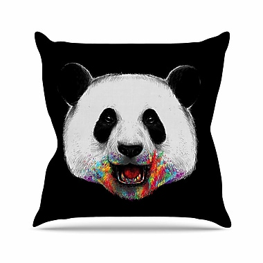 East Urban Home Digital Carbine Where Is the Rainbow? Illustration Outdoor Throw Pillow