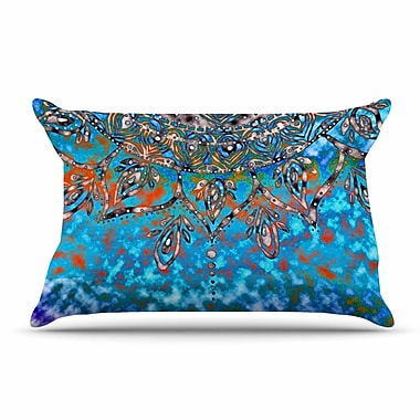 East Urban Home Li Zamperini 'Mandala Art' Pillow Case