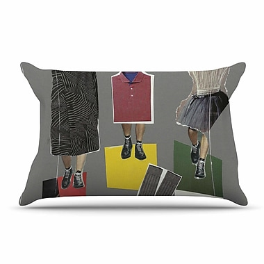 East Urban Home Jina Ninjjaga 'Fashion' Pop Art Pillow Case