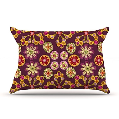 East Urban Home Jane Smith 'Indian Jewelry Floral' Pillow Case