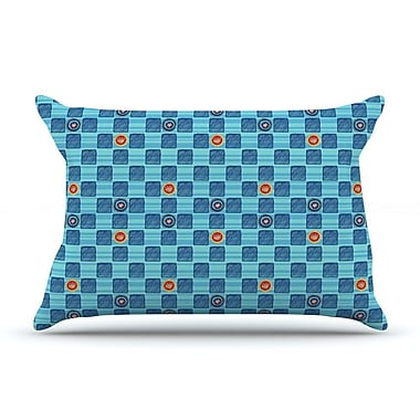 East Urban Home Jane Smith 'Vintage Checkerboard' Pillow Case
