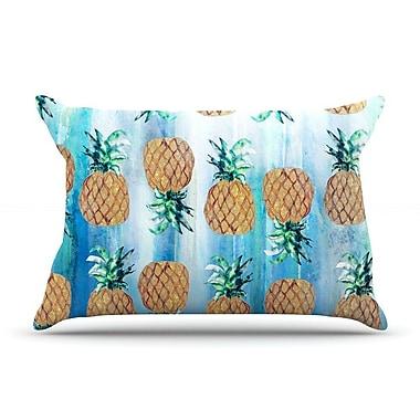 East Urban Home Nikki Strange 'Pineapple' Pillow Case