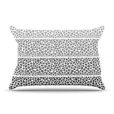 East Urban Home Pom Graphic Design 'Riverside Pebbles' Pillow Case