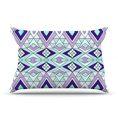 East Urban Home Pom Graphic Design 'Gems' Pillow Case