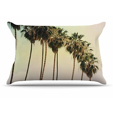 East Urban Home Sylvia Coomes 'Palm Trees' Coastal Photography Pillow Case