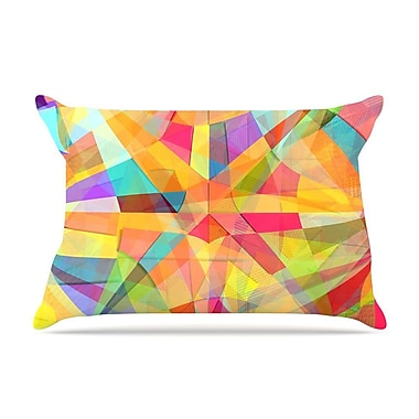 East Urban Home Danny Ivan 'Star' Geometric Pillow Case