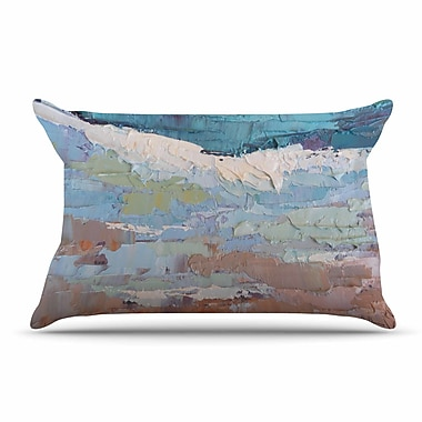 East Urban Home Carol Schiff 'Surf Dreams' Painting Pillow Case