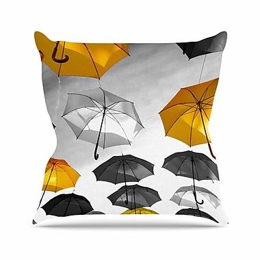 East Urban Home 888 Design Umbrellas Outdoor Throw Pillow; 16'' H x 16'' W x 5'' D