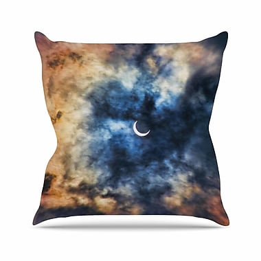 East Urban Home Bruce Stanfield Night Moves Outdoor Throw Pillow; 16'' H x 16'' W x 5'' D