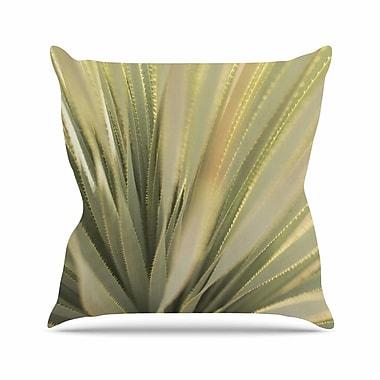 East Urban Home Kristi Jackson Cactus Outdoor Throw Pillow; 18'' H x 18'' W x 5'' D