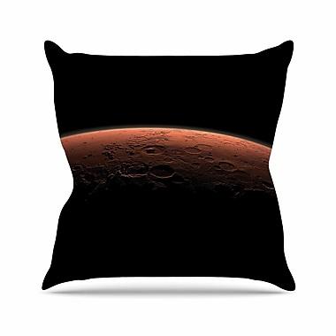 East Urban Home Alias Martian Sunrise Nature Outdoor Throw Pillow; 18'' H x 18'' W x 5'' D