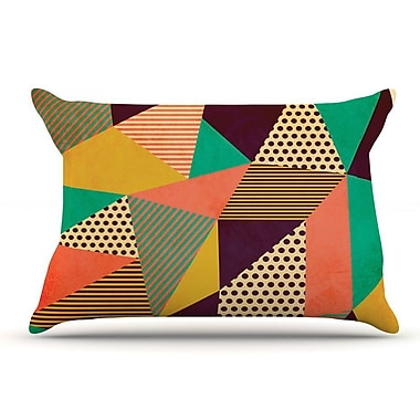 East Urban Home Louise Machado 'Geometric Love Ii' Pillow Case