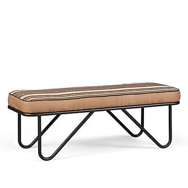 Union Rustic Coleman Upholstered Bench