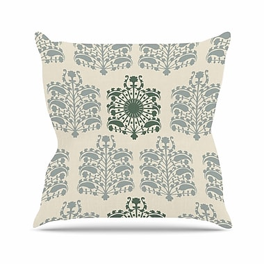 East Urban Home Laura Nicholson Samaarkkand Ethnic Outdoor Throw Pillow; 16'' H x 16'' W x 5'' D