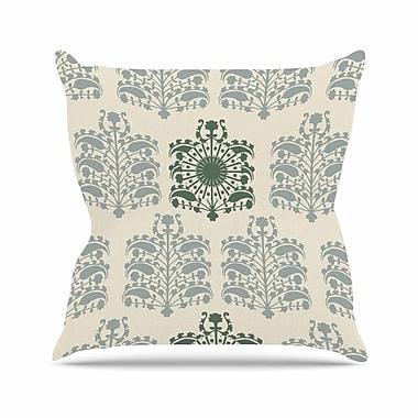 East Urban Home Laura Nicholson Samaarkkand Ethnic Outdoor Throw Pillow; 18'' H x 18'' W x 5'' D
